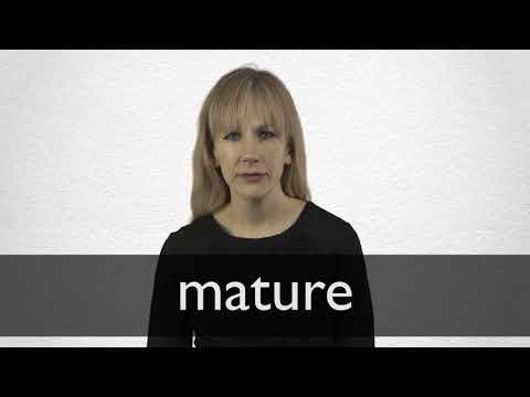 was heißt mature auf deutsch