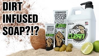 The Best Heavy Duty Hand Cleaner - Infused with DIRT?!? Mechanic hand soap by Grip Clean