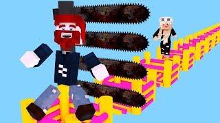 SPRING AUF DIE HÜPFBURG UND ÜBERLEBE! (Minecraft)