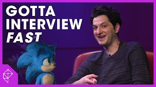 The fastest interview ever with Ben Schwartz from Sonic the Hedgehog