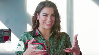 Dua Lipa On Her Collaboration With Coldplay's Chris Martin | The Process | GQ
