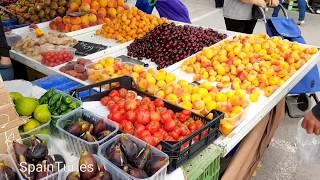 Цены на фрукты и овощи в Испании, в Аликанте, июнь 2018