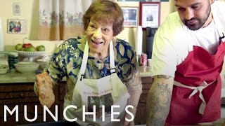How-To Make Chicken Cutlets with Frank Pinello & His Nonna