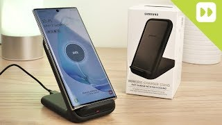 Official Samsung Wireless Fast Charger Stand 15W Review