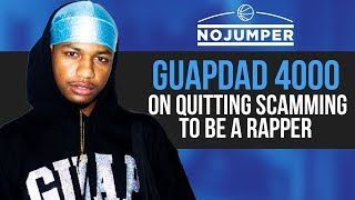 GuapDad 4000 On Losing 40k In Bitcoin, Quitting Scamming To Be A Rapper