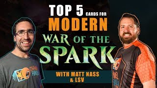 Top 5 *Modern* Cards from War of The Spark