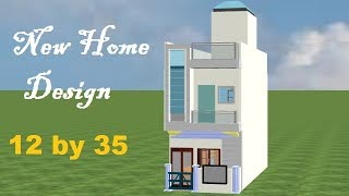 12 By 35 House Plan, 12 By 35 Home Design,12 By 35 Ghar Ka Naksha,12 By 35 Small House