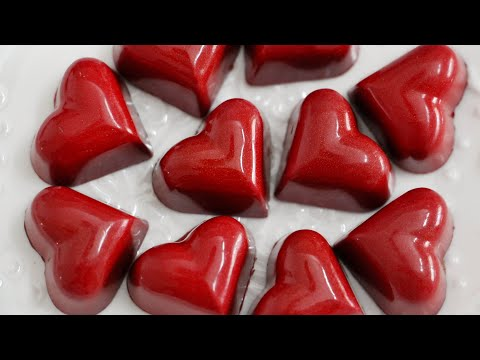 Valentine's Day handmade chocolates 情人节手工巧克力 Chocolats artisanaux pour la Saint Valentin