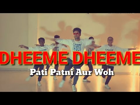 New Dheeme Dheeme Dance Video | Pati Patni Aur Woh | Neha kakkar Tony Kakkar| Explore  dance  centre