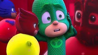 PJ Masks Episodes | Splat Them! Sticky Splats 🌋Mystery Mountain 🌋Superhero Cartoons for Kids