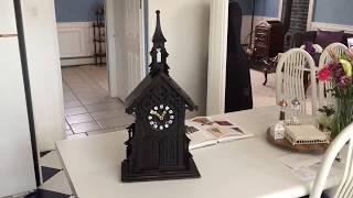 Two 1800's Monk Clock Automaton Videos