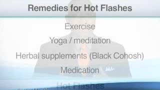 Coping with Hot Flashes and Night Sweats | Ask the Doctor