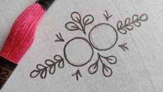 All Over Design Latest Stitch By Hand Embroidery-39,আধুনিক ফুলকারি ডিজাইনে জামায় নকশা সেলাই