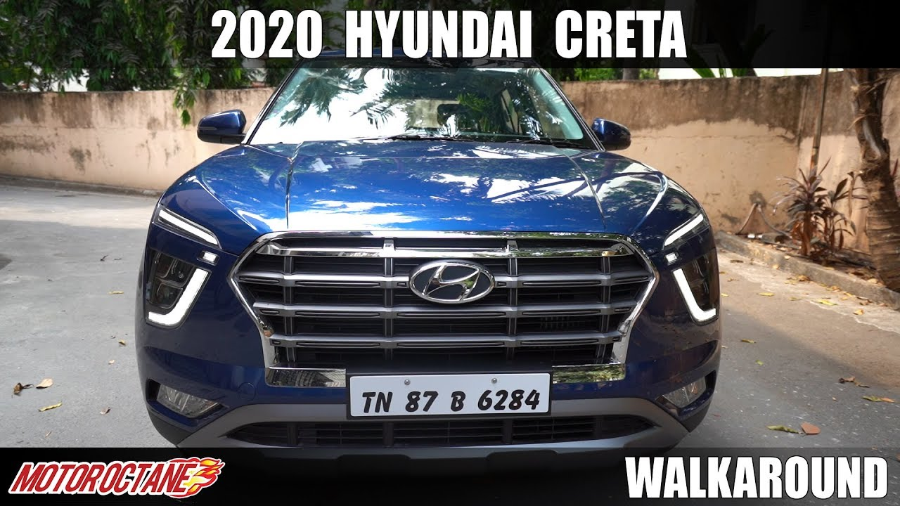 Motoroctane Youtube Video - 2020 Hyundai Creta SX (O) Walkaround - All Features Explained | Hindi | MotorOctane