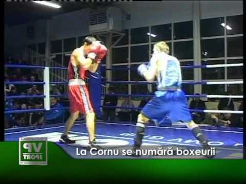 La Cornu se numara boxeurii