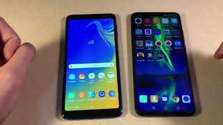 Samsung Galaxy A7 2018 vs Honor 8X