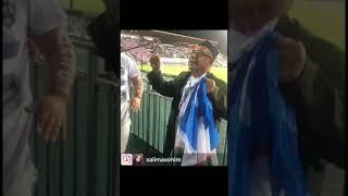 O'zbekiston Turkmaniston 4-0 Jahongir Poziljonov va Xalimaxonim muxlislikda bizga o'rnak bo'lishdi