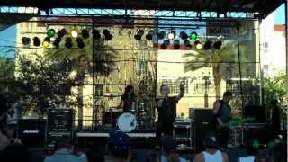 EYE EMPIRE - Ignite @ Durty Nelly's Block Party ~ St. Petersburg, FL ~ 3/17/12