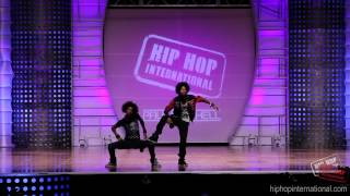 Les Twins, LES TWINS - France 2012 World Hip Hop Dance Championship