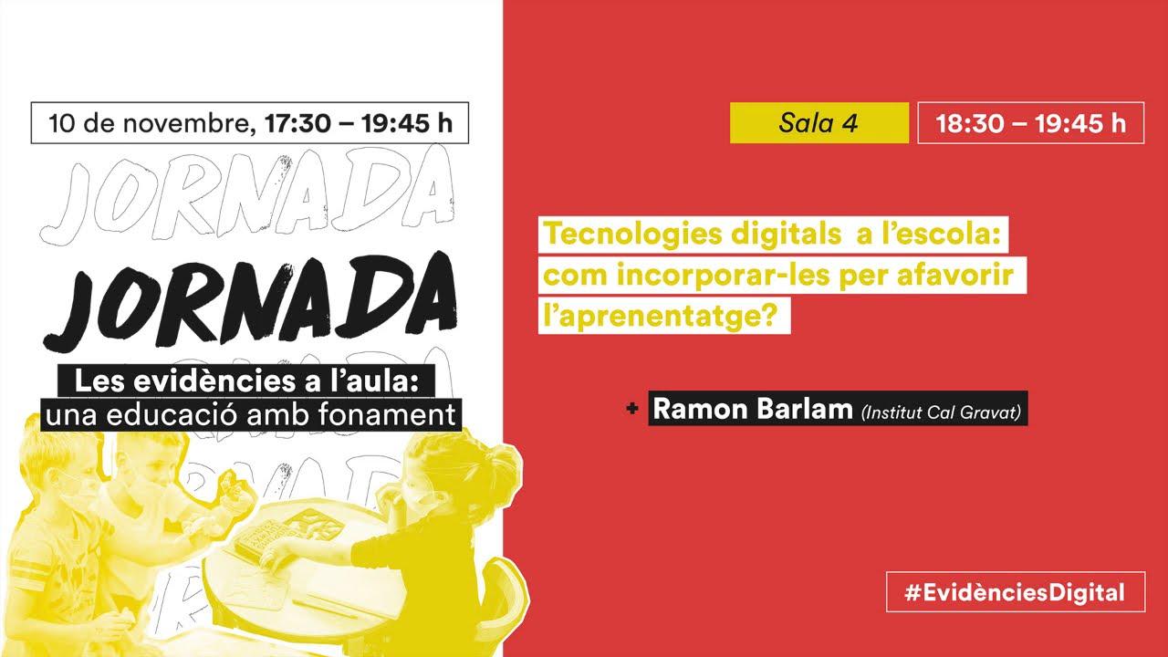 """Tecnologies digitals a l'escola: El projecte """"La meva Manresa"""" - Ramon Barlam"""