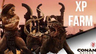 Conan Exiles Favorite XP Farm/Non-exploit