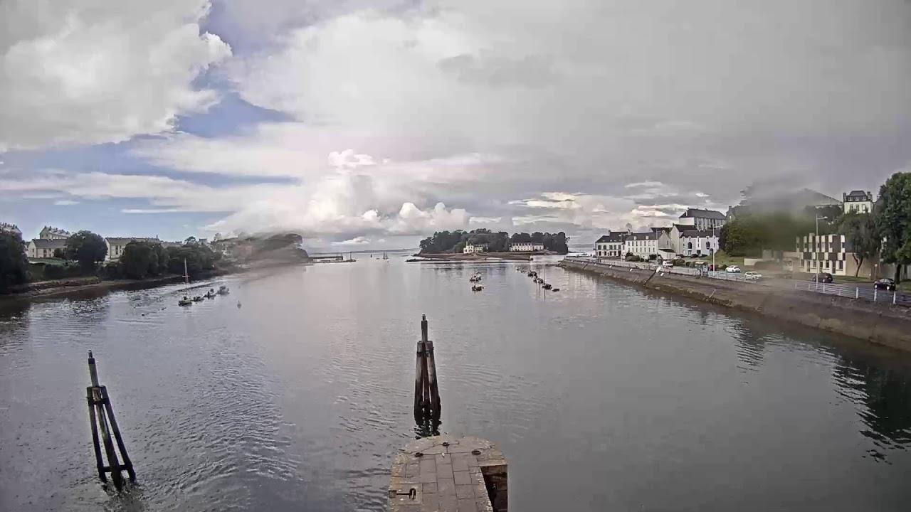 Webcam en live du port Rhu à Douarnenez