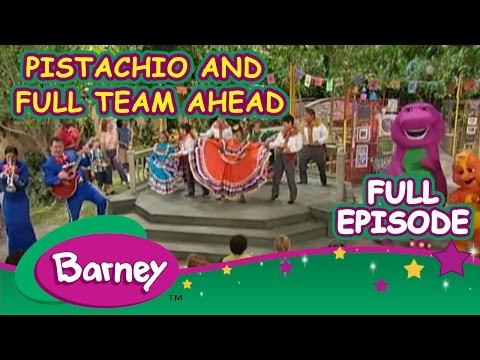 Barney Full Episode  - Pistachio And Full Team Ahead