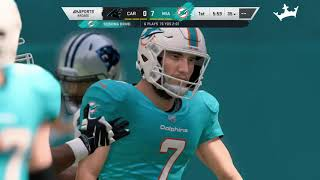 Fantasy Madden Stream: Carolina at Miami