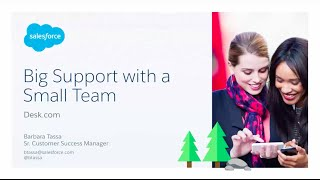 How to Deliver Great Customer Service With a Small Team [Salesforce Webinar]