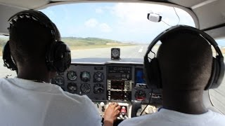 preview picture of video 'Flying around St. Croix (TISX) - First time'