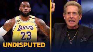 Skip responds to Kendrick Perkins' tweet about defending LeBron James | NBA | UNDISPUTED
