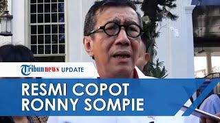 Jabatan Ronny Sompie sebagai Dirjen Imigrasi Sudah Resmi Dicopot oleh Yasonna Laoly, Ini Alasannya