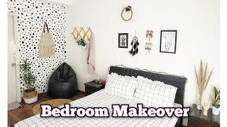 Extreme Bedroom Makeover / Dalmatian Wall / Master Room Makeover