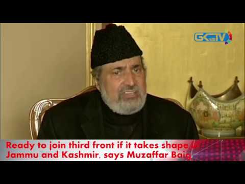 Ready to join third front if it takes shape in Jammu and Kashmir, says Muzaffar Baig