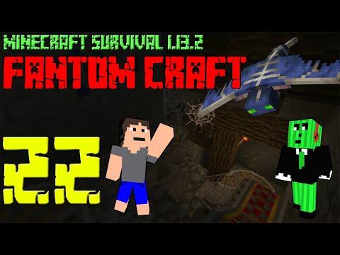 DŮLNÍ METRO! Minecraft survival 1.13.2 - FANTOM CRAFT #22 /wCukeMan #metro #mine #fantomcraft