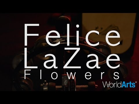 """Felice performing her song """"Flowers"""" live!"""