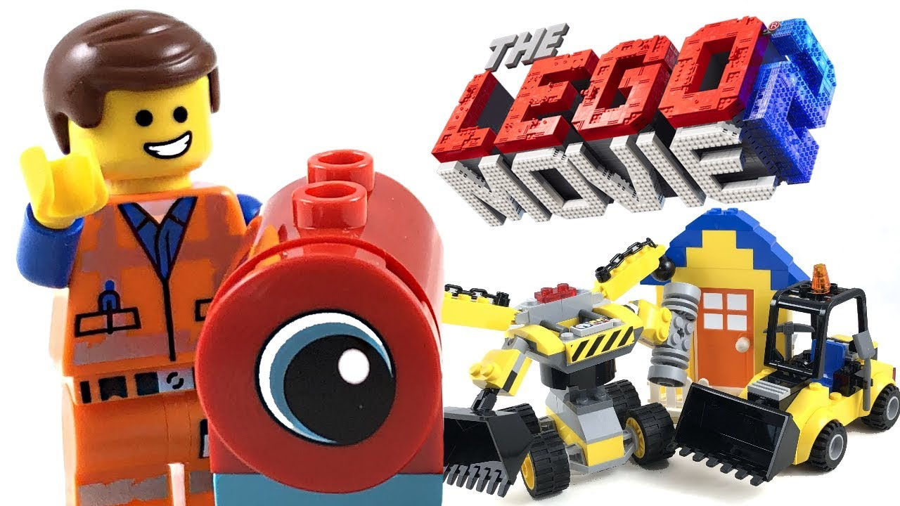 The LEGO Movie 2 Emmet's Builder Box review! 2019 set 70832!