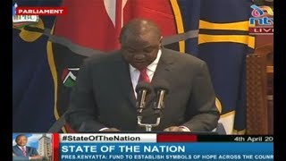 Uhuru's State of the Nation address - VIDEO