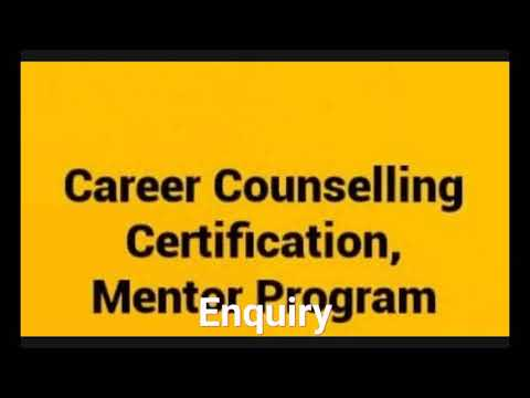 Career Counselling Certification and Mentor Program - YouTube