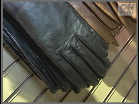 La moda de los guantes de cuero