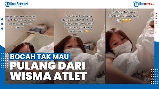 Viral Kisah Bocah Ogah Pulang dari Wisma Atlet Meski Negatif Covid-19, Ternyata Akrab dengan Nakes