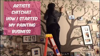 Painting Family Tree On Wall | How I Started My Painting Business