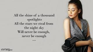Never Enough | Morissette Amon | Lyrics