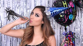 New Year's Eve Glam! Makeup Tutorial | Dulce Candy