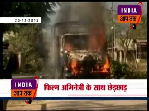 दिल्ली में कर्फु जारी