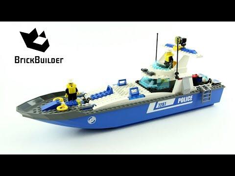 Vidéo LEGO City 7287 : Le bateau de police