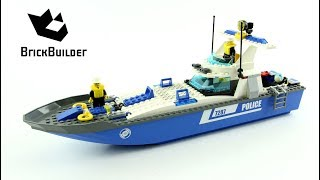 Lego city police boat 7287 toys r us
