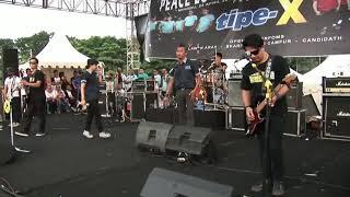 LIVE KONSER!! LAGI LAGI SENDIRI - TIPE X    DEMAK   KENCENG MUSIKNYA #live #konser #tipe-x #demak