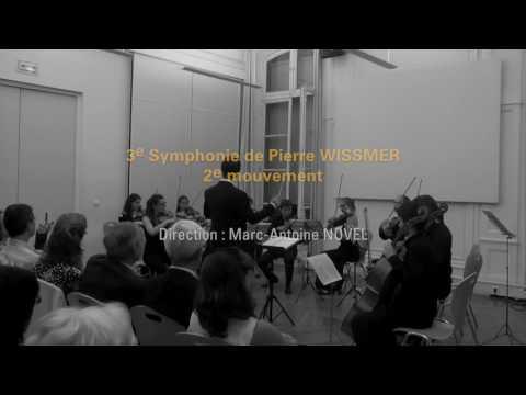 3ème symphonie de Pierre Wissmer (extraits 9/9/2016)