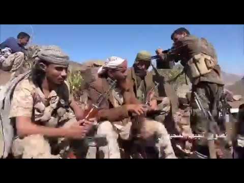 قوات ألوية العمالقة بجبهة الضالع